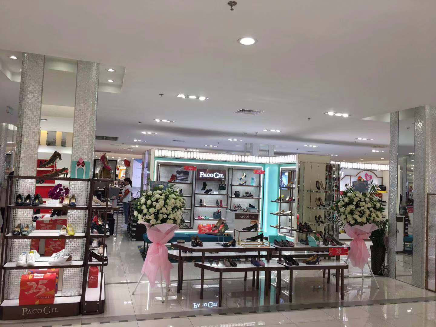 Paco Gil Shoes at the mall Shuang'An Department Storede China