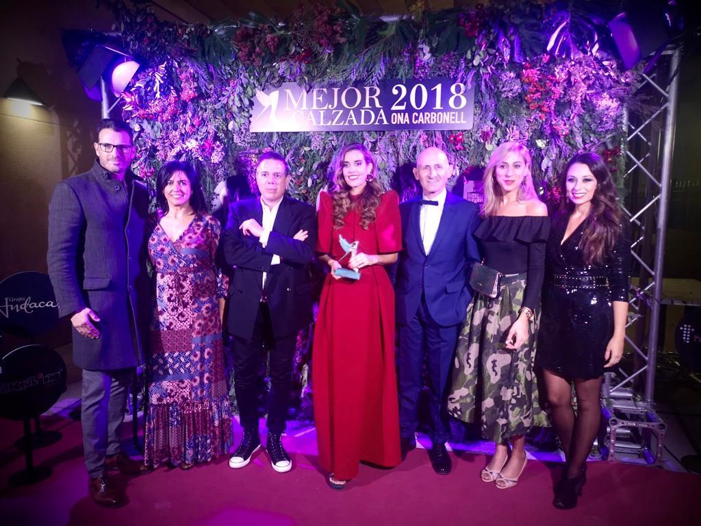 Paco Gil como jurado de la Mejor Calzada de España 2018