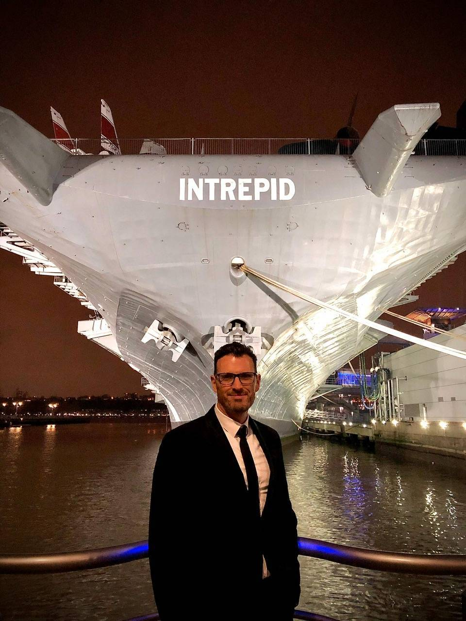 Paco Gil in New York Intrepid