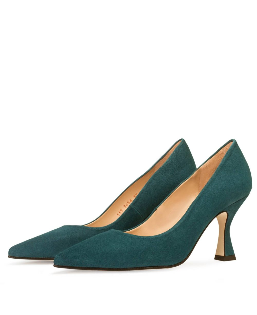 Leather Pumps P-3654 Marta Lena Suede