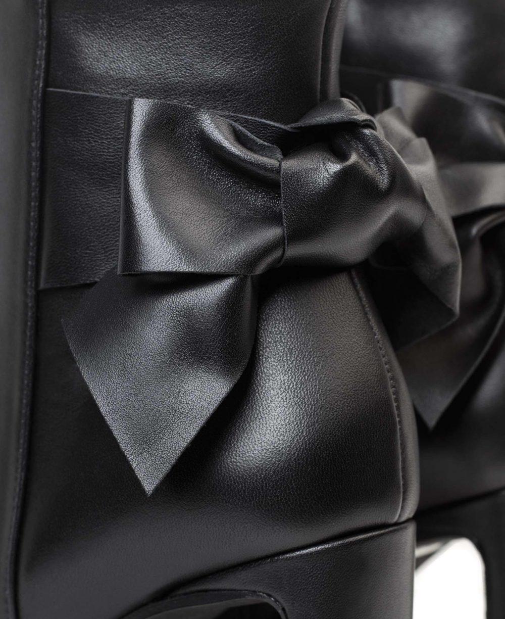 Botines en piel Paco Gil- P-3830 Black Bravo