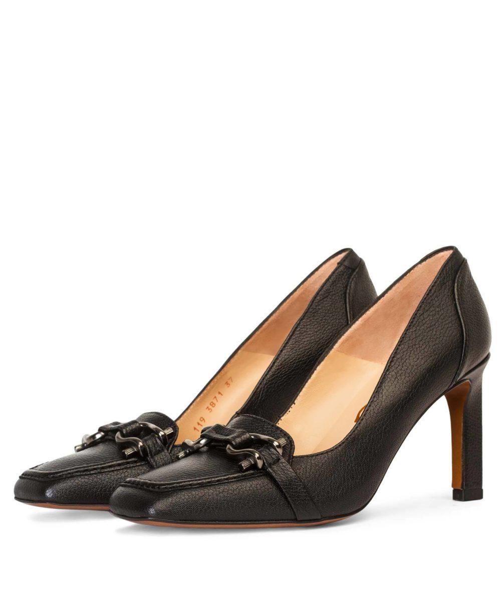 Zapatos de piel Paco GIl - P-3871 Black Bufalo D