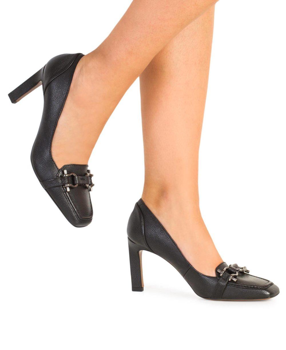 Zapatos de piel Paco Gil. P-3871 Black Bufalo Piernas