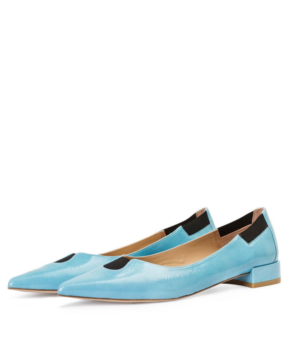 P-3902 VALERIA SKY DUMA zapato de piel plano Paco Gil - par