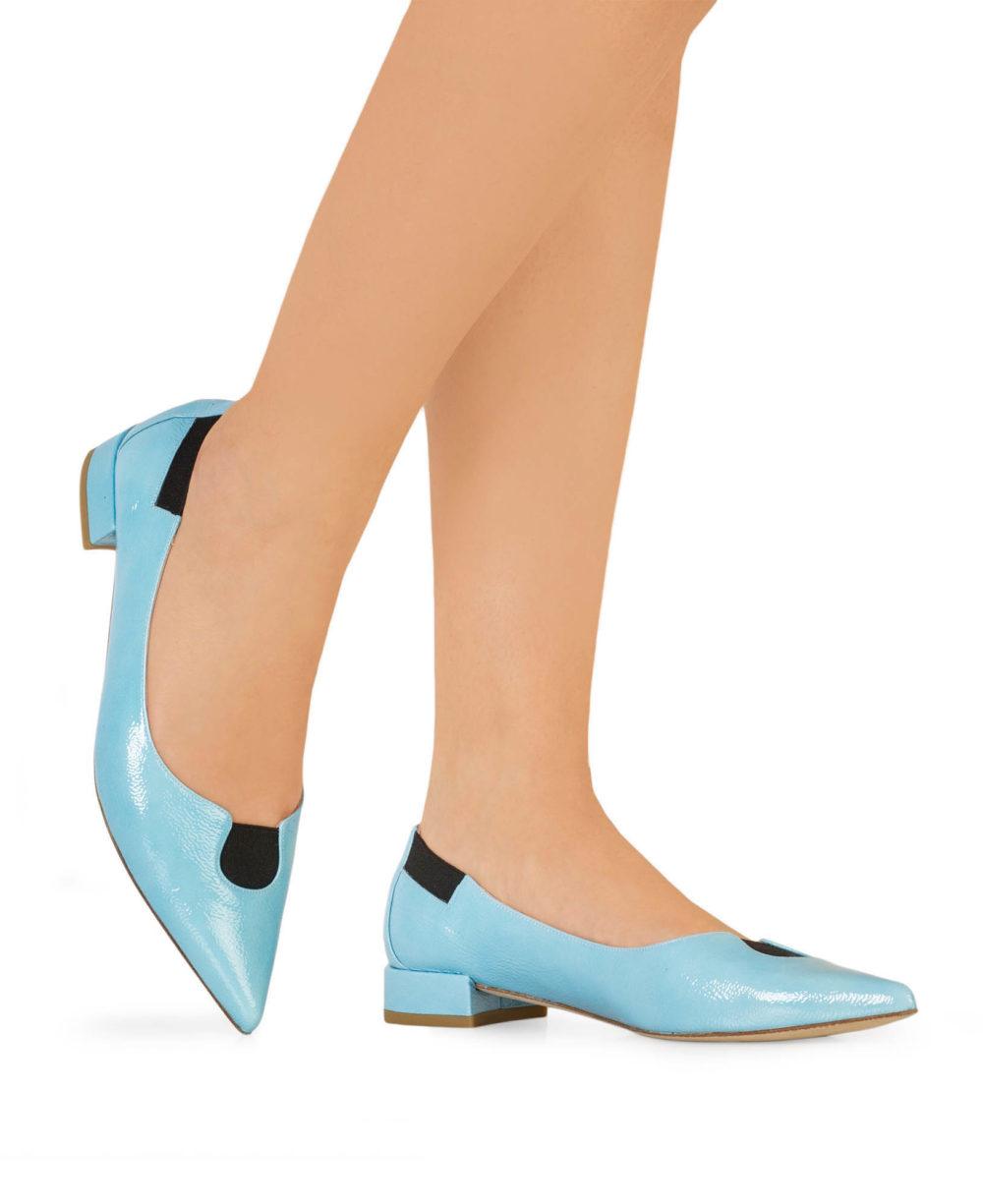 Zapatos de Piel Paco Gil - P-3902 Sky Duma Piernas